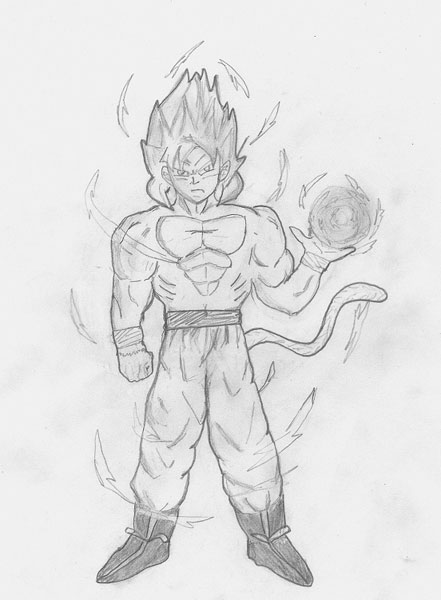 imagine le super saiyan God »