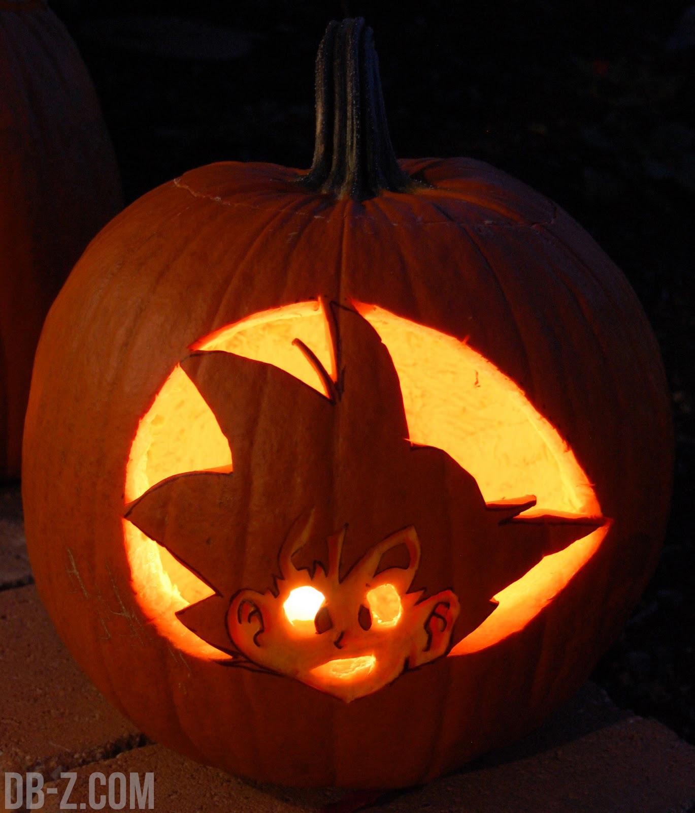 Dragon ball c l bre halloween - Citrouille epeurante ...