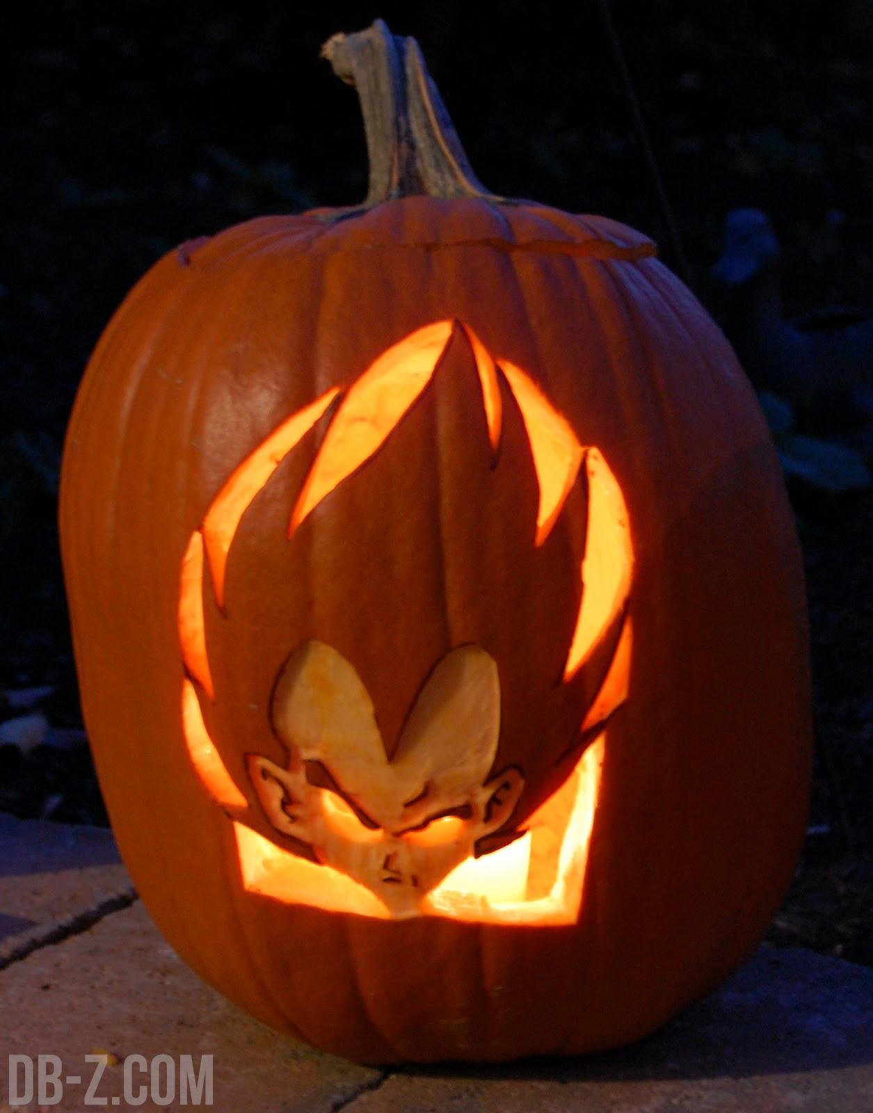 un petit florilge des meilleurs hommages fait dragon ball dbz pour halloween entre les citrouilles customises et autres costumes dhalloween