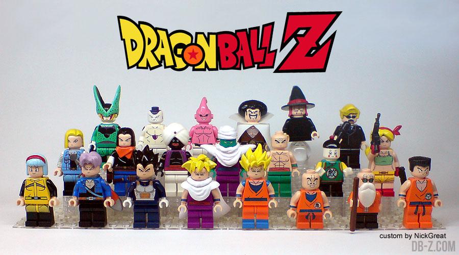 figurine dragon ball lego