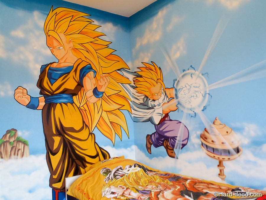 Chambre dragon ball z for Chambre dragon ball z