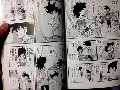 La mère de Goku, et Vegeta en héro du prochain film DBZ ? - Page 4 Dragonball-minus-2-400x300