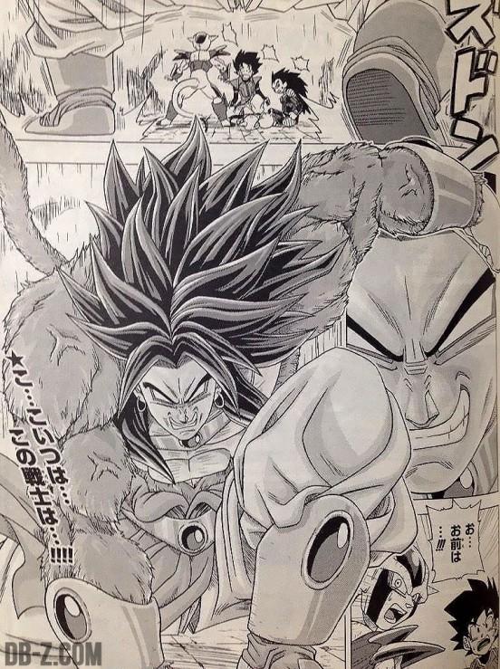 Broly Super Saiyan 4 Dragon Ball Heroes