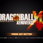 DRAGON BALL XENOVERSE title screen