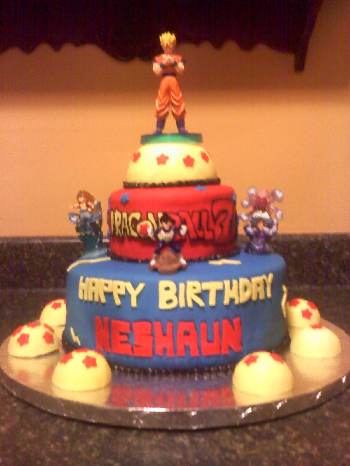 Dragon Ball Z Cake Designs