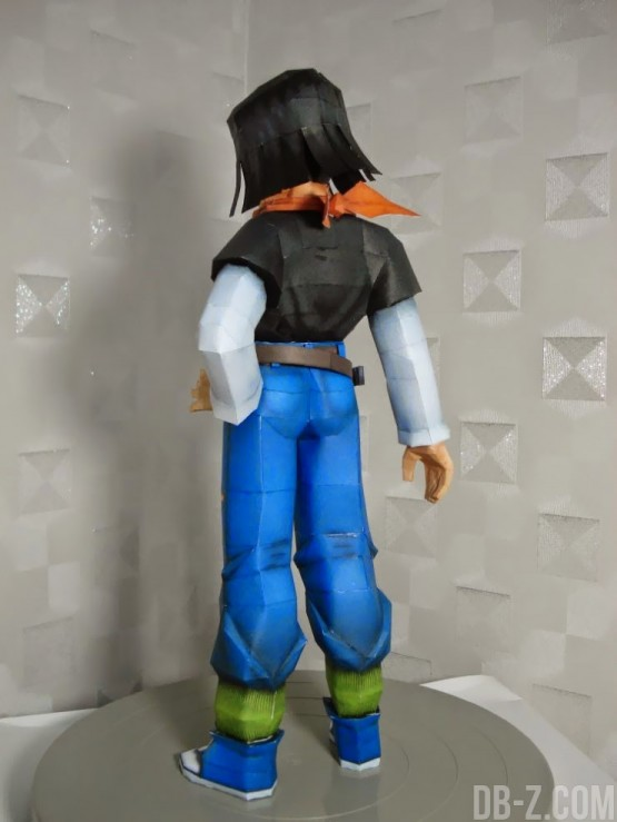 Dragon Ball Papercraft : Cybrog N°17