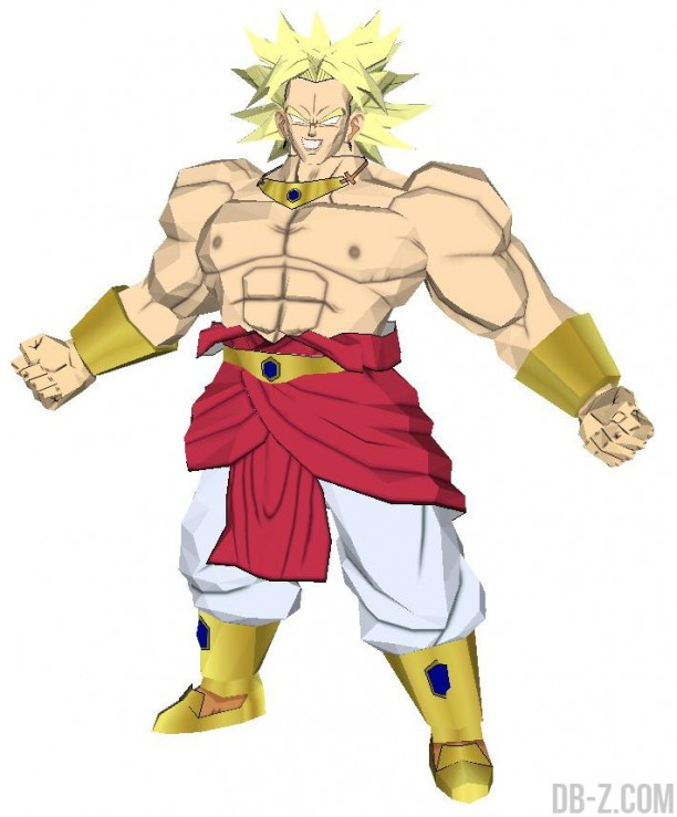 Dragon Ball Papercraft : Broly