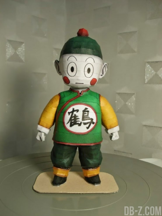 Dragon Ball Papercraft : Chaozu