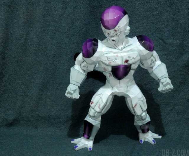 Dragon Ball Papercraft : Freezer