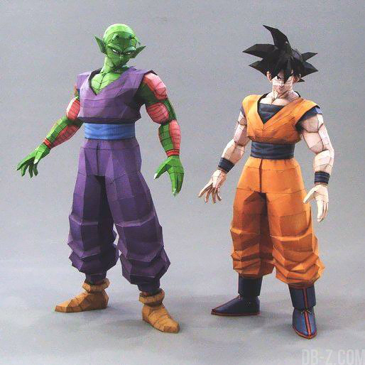 Dragon Ball Papercraft : Goku & Piccolo