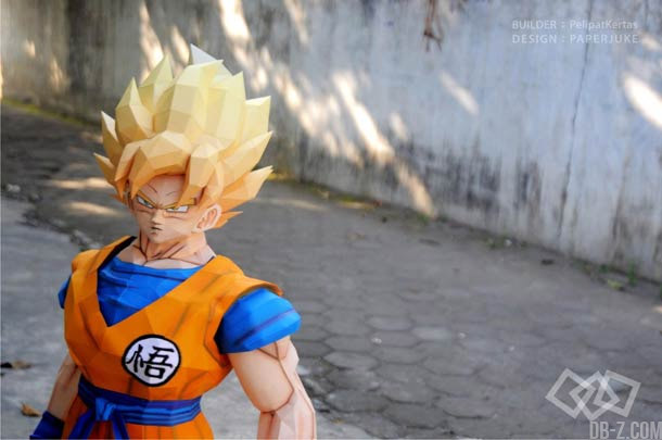 Dragon Ball Papercraft : Goku Super Saiyan