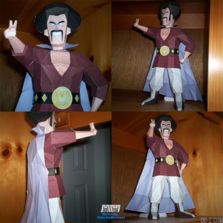 Dragon Ball Papercraft : Mister Satan