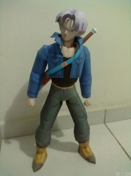 Dragon Ball Papercraft : Trunks