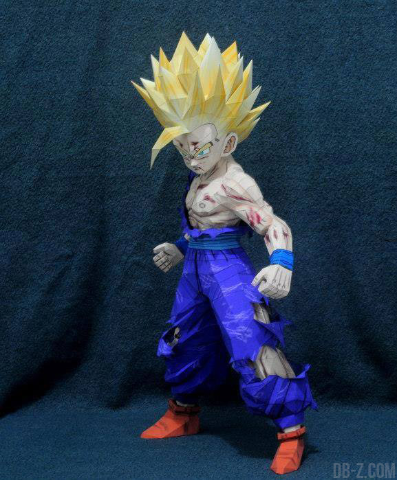 Dragon Ball Papercraft : Gohan Super Saiyan 2