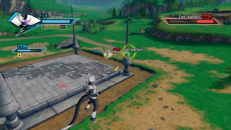 Dragon Ball Xenoverse - Arènes destructibles