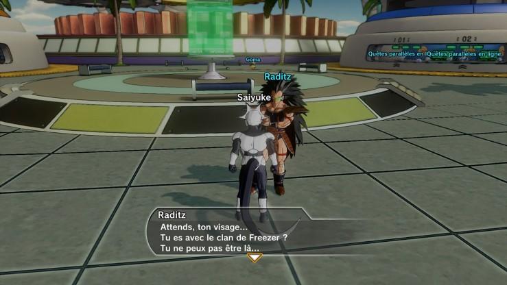 Dragon Ball Xenoverse - Interactions à Toki Toki