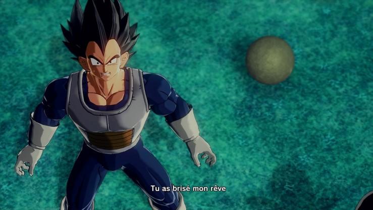 Dragon Ball Xenoverse - La peur de Vegeta