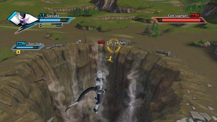 Dragon Ball Xenoverse - Le Cell Game détruit