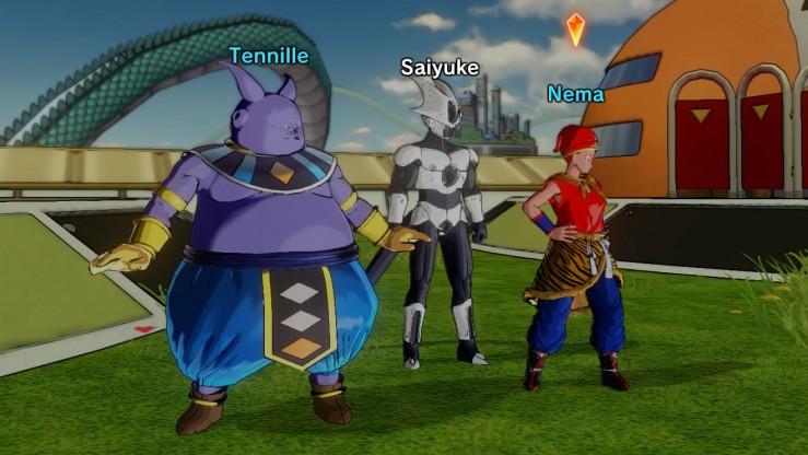Dragon Ball Xenoverse - Les équipes