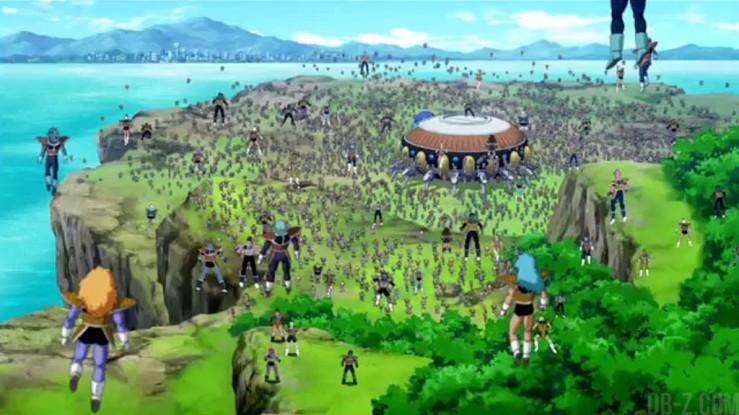 Dragon Ball Z - La Résurrection de F : L'armée de Freezer