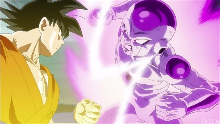 DBZ Resurrection F - Goku vs Freezer