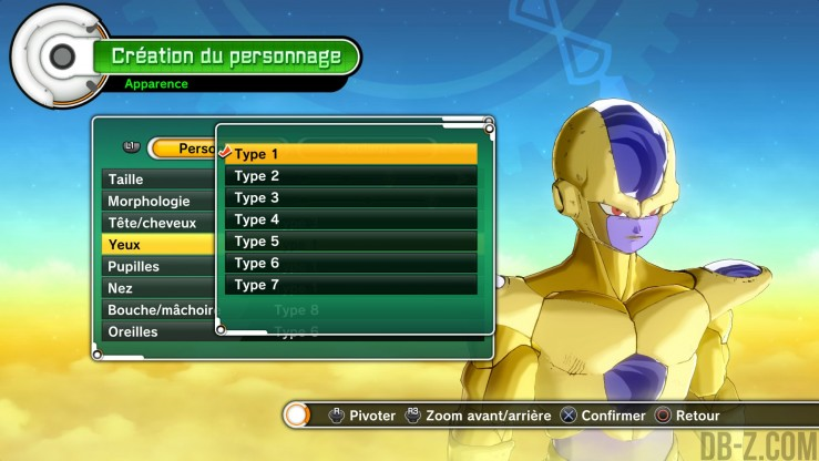 Dragon Ball Xenoverse - Golden Freezer