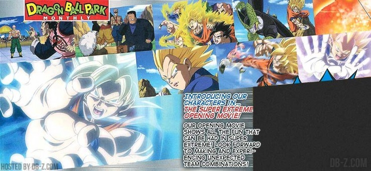 DBZ Extreme Butoden 3DS Opening