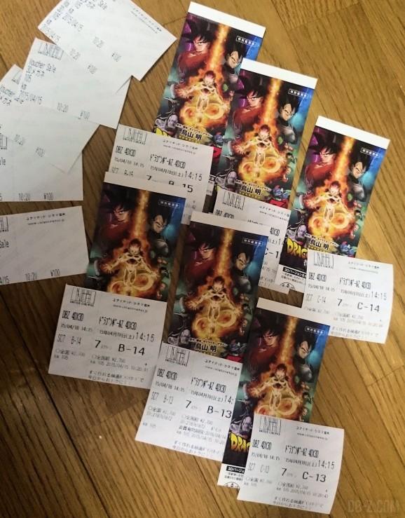 Dragon Ball Z Resurrection F tokyo 6