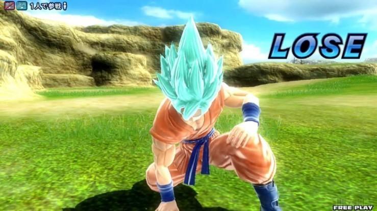 Dragon Ball Zenkai Battle Royale Goku SSGSS 3
