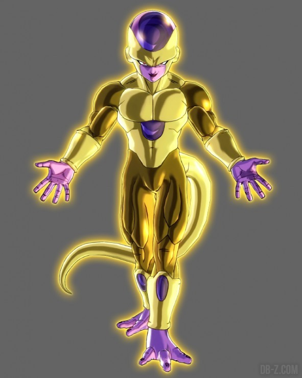 Xenoverse Golden Frieza