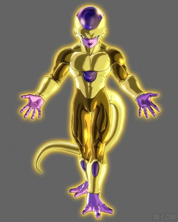 Xenoverse Golden Frieza