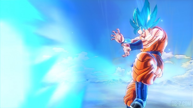 Dragon Ball Xenoverse - Goku SSGSS (Ultimate Burst Kamehameha)