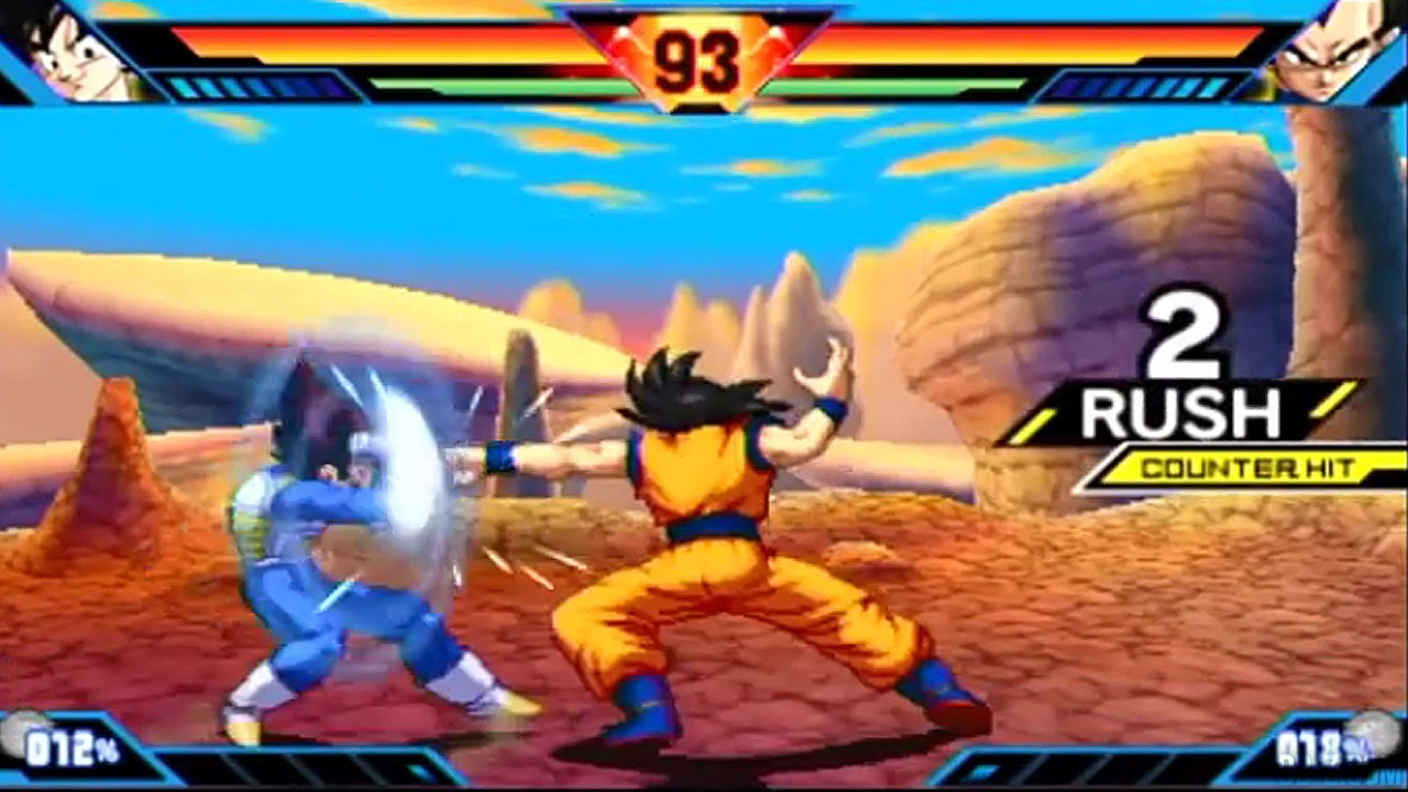 Dragon Ball Z Extreme Butoden Gameplay