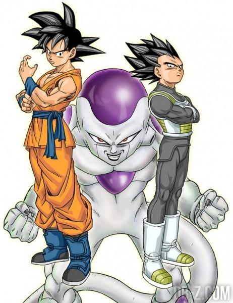 Dragon Ball Z Resurrection F Goku Vegeta