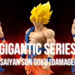 Figurine Gigantic Series Super Saiyan Goku