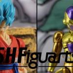 SHFiguarts Goku SSGSS et Golden Freezer