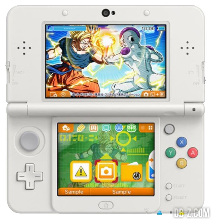 Theme-3DS-Dragon-Ball-Z