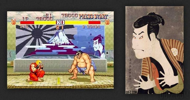 ukiyoe street fighter 2 honda stage