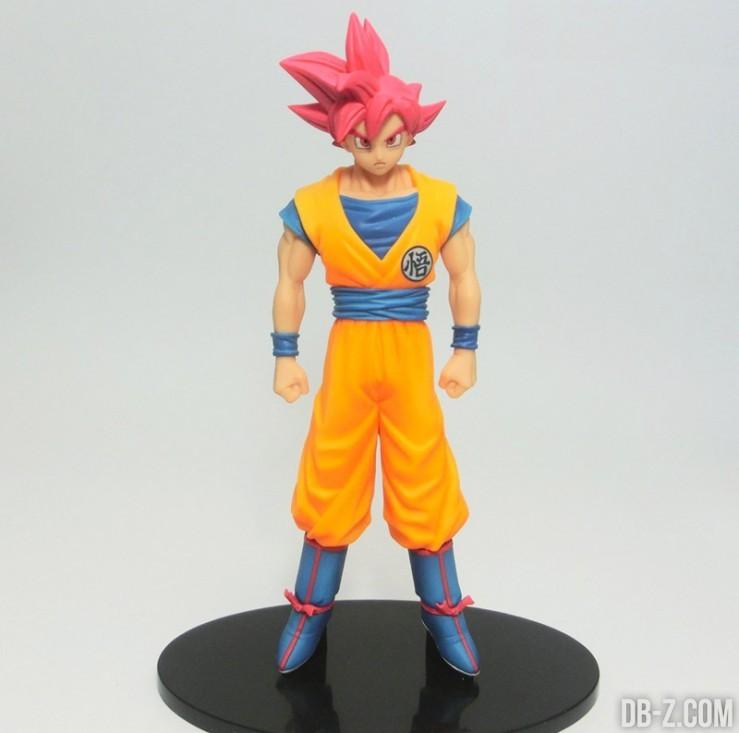 DXF Goku Super Saiyan God / Chozoshu
