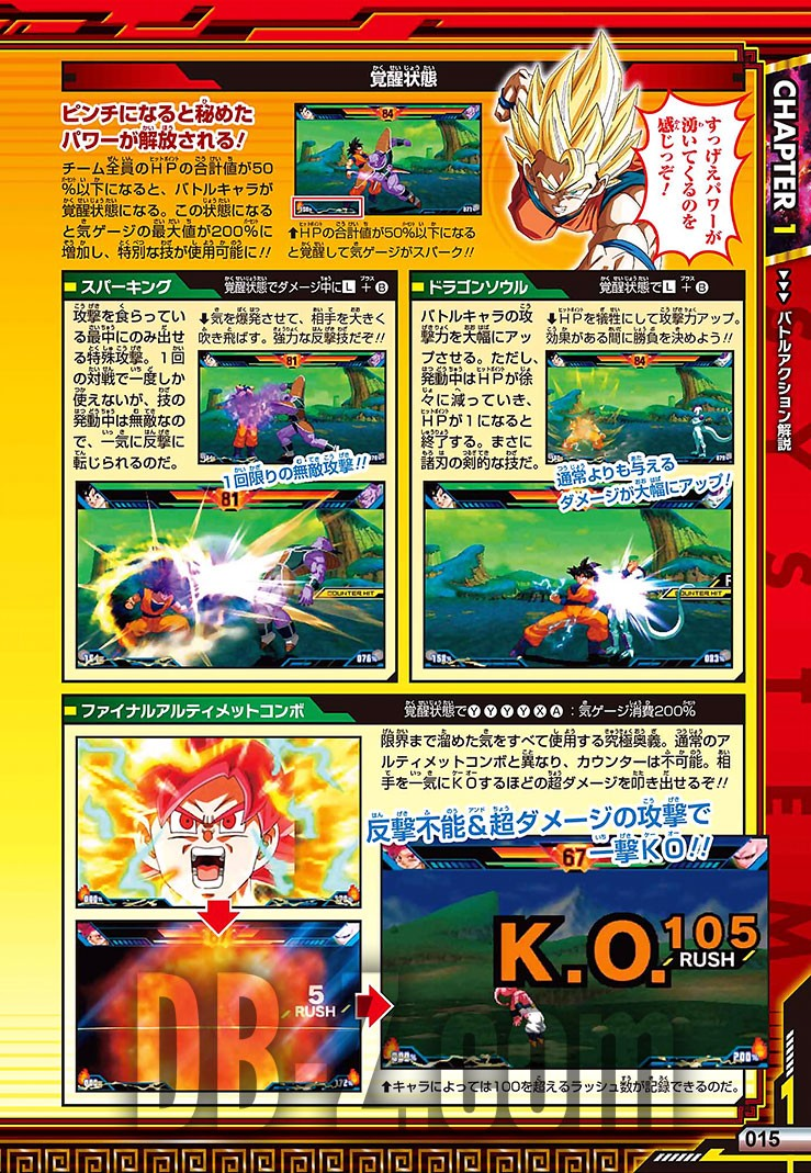 Dragon Ball Z Extreme Butoden Limit Break Battle Guide - Systeme