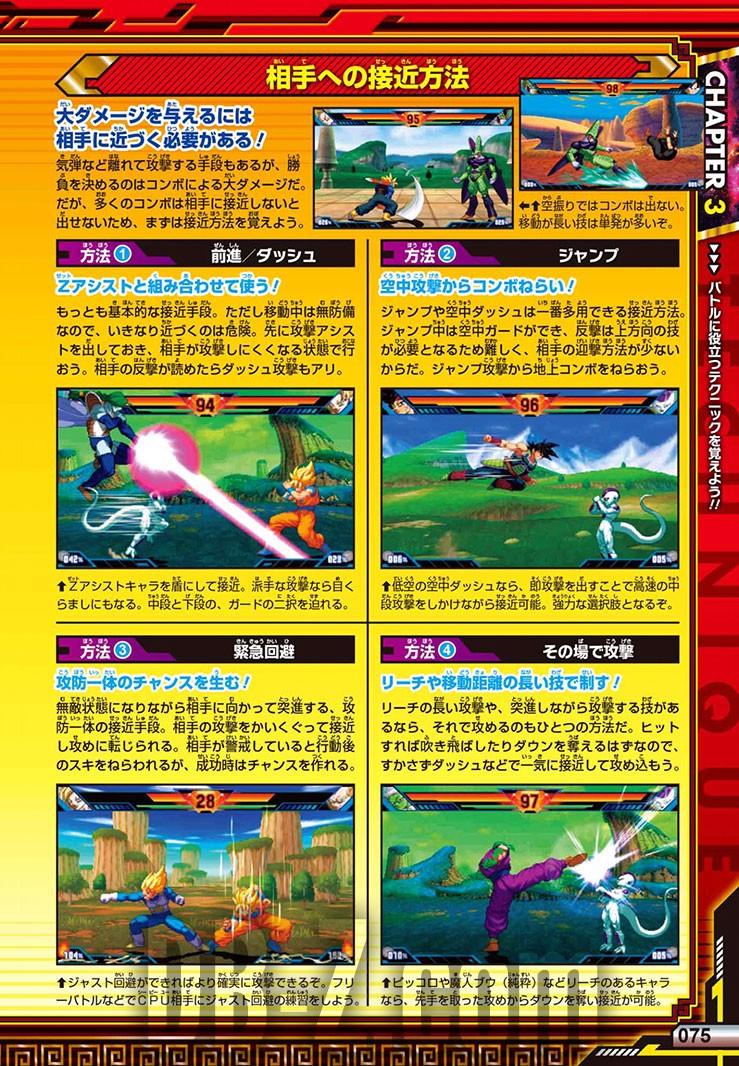 Dragon Ball Z Extreme Butoden Limit Break Battle Guide - Techniques
