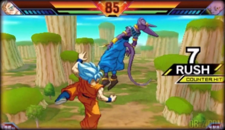 Dragon Ball Z Extreme Butoden : Goku SSGSS, Beerus