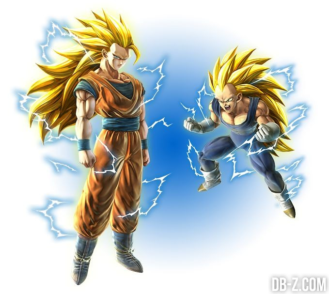 Dragon Ball Zenkai Battle - Goku SSJ3 / Vegeta SSJ3