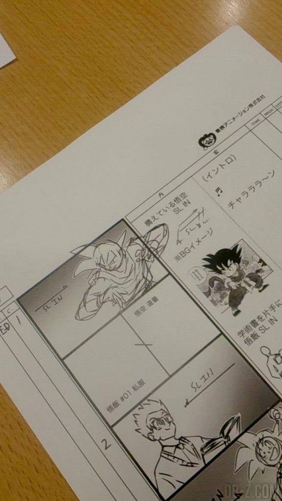 Draogn Ball Super : Storyboard Ending