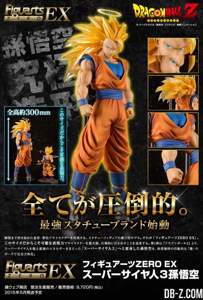Figuarts Zero EX - Super Saiyan 3 Son Goku
