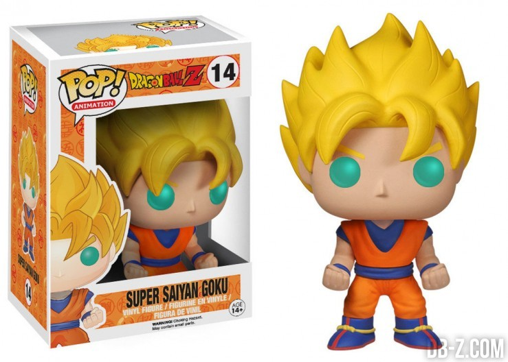 Pop! Animation : Dragon Ball Z Super Saiyan Goku
