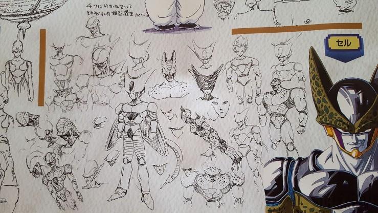 Sketch Akira Toriyama Cell