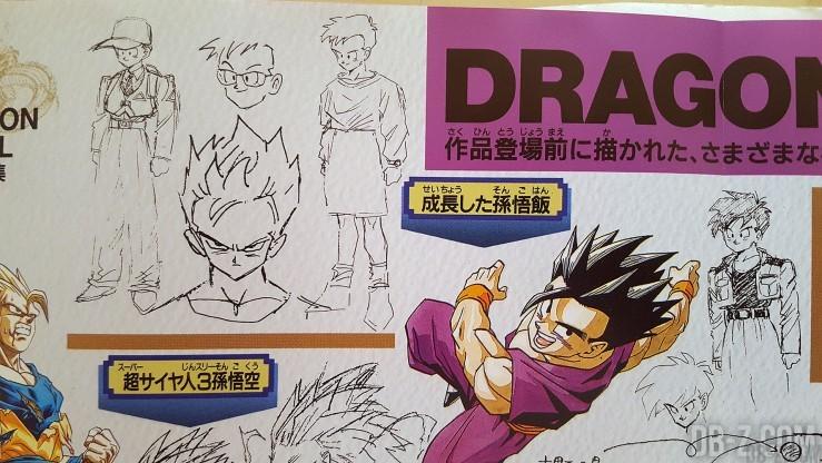 Sketch Akira Toriyama Gohan