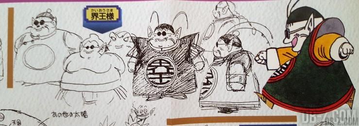 Sketch Akira Toriyama Kaio