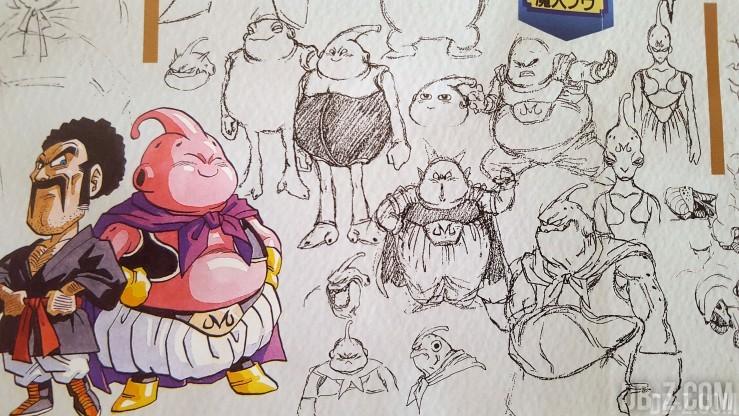 Sketch Akira Toriyama Majin Buu